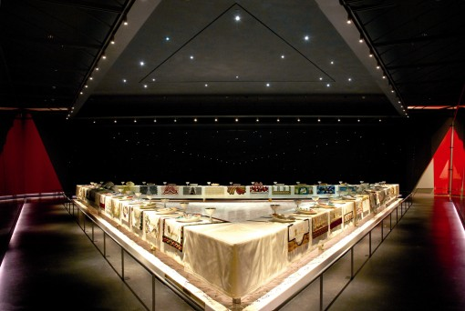 Sackler Center, Brooklyn Museum; Judy Chicago's Dinner Party
