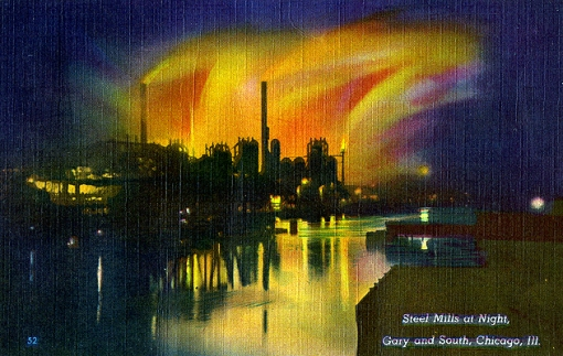 steelmillsatnight-circa1950
