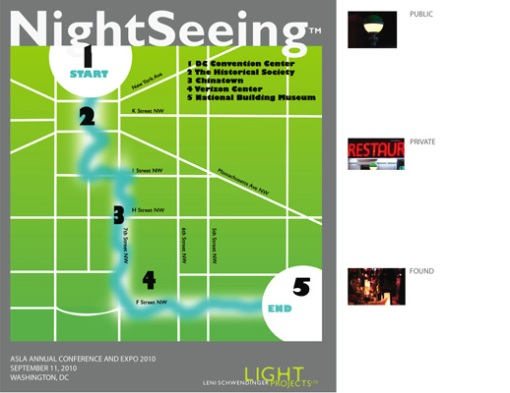 NightSeeing™ Map Washington D.C.