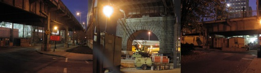 Light Projects LTD Illumination Louisville 2nd Street bridge before images