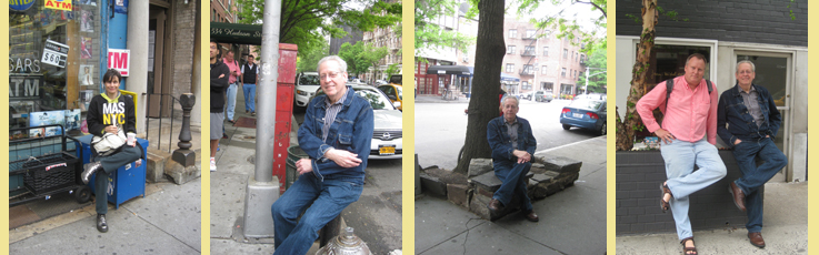 Found Seating - Photos by Leni Schwenidnger (and Michael Levine)